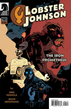 Lobster Johnson The Iron Prometheus Vol 1 4