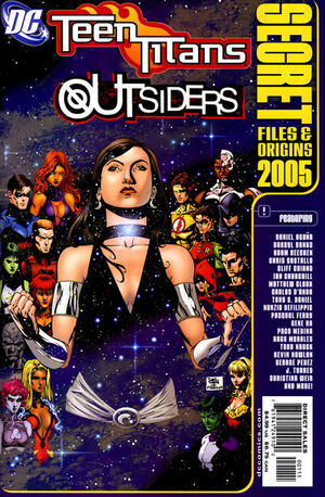 Teen Titans Outsiders Secret Files and Origins Vol 1 2005
