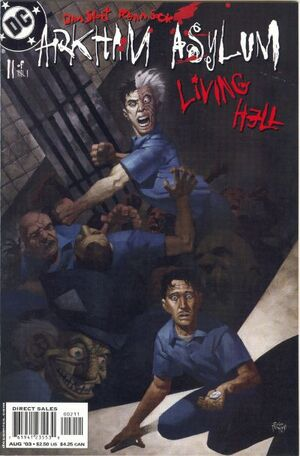Arkham Asylum Living Hell Vol 1 2