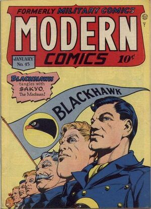 Modern Comics Vol 1 45