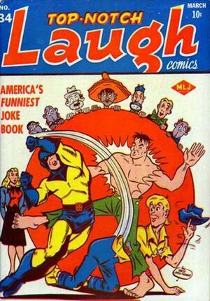 Top-Notch Laugh Comics Vol 1 34