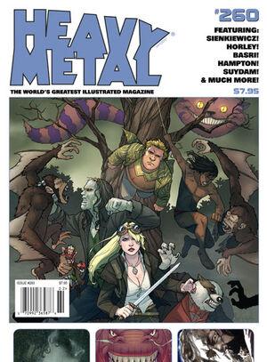 Heavy Metal Vol 1 260 Newsstand