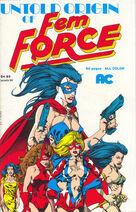 The Untold Origin of the Femforce Vol 1 1