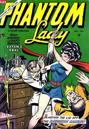 Phantom Lady (Ajax-Farrell) Vol 1 1
