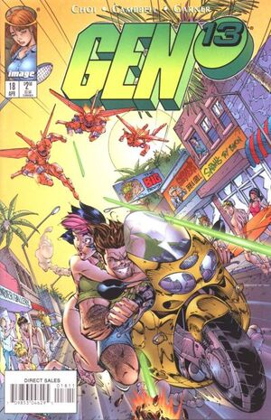 Cover for Gen¹³ #18 (1997)