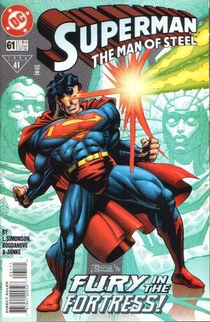 Superman Man of Steel Vol 1 61