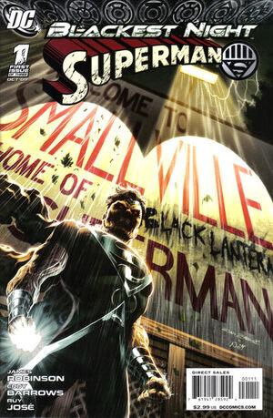 Blackest Night Superman Vol 1 1