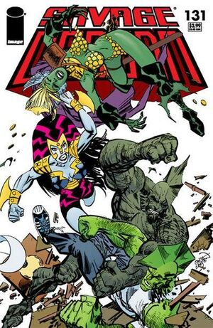 Cover for Savage Dragon #131 (2006)