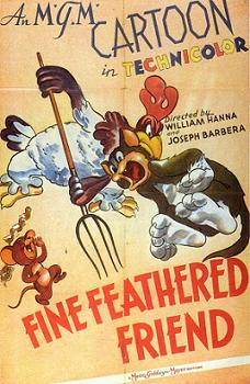 Fine Feathered Friend poster