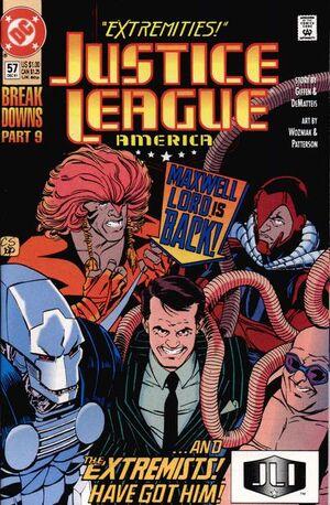 Justice League America Vol 1 57