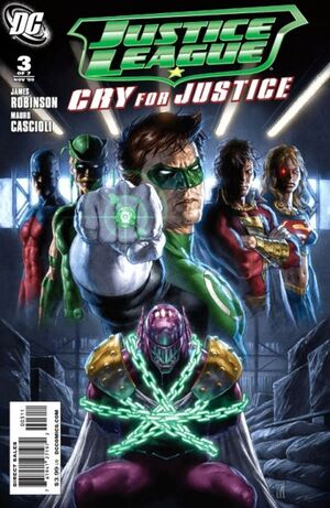 Justice League Cry for Justice Vol 1 3