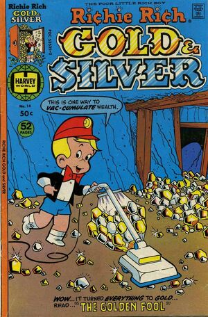 Richie Rich Gold & Silver Vol 1 14