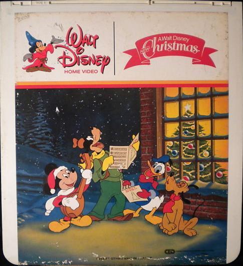 ced - A Walt Disney Christmas Dvd