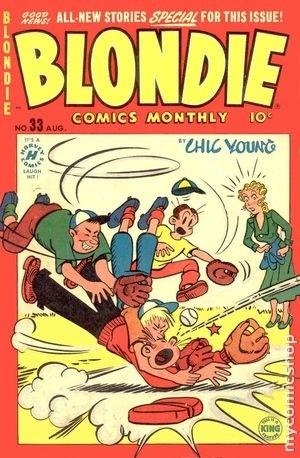 Blondie Comics Vol 1 33