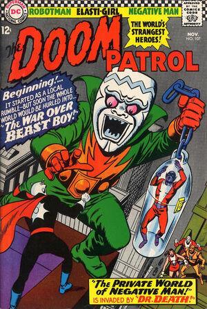 Doom Patrol Vol 1 107