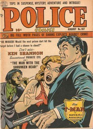 Police Comics Vol 1 107