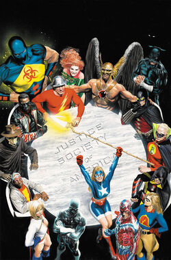Cover for the JSA Omnibus Vol. 3  Trade Paperback