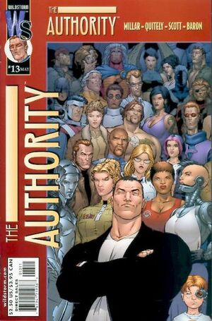 Cover for The Authority #13 (2000)