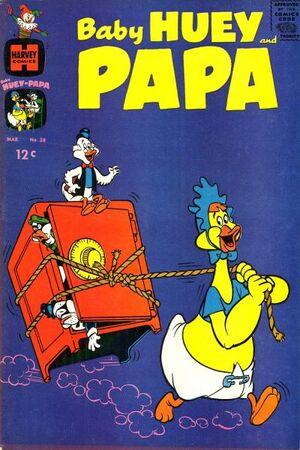Baby Huey and Papa Vol 1 28