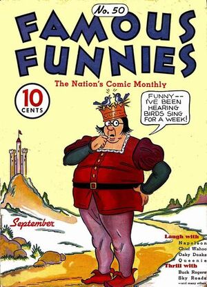 Famous Funnies Vol 1 50
