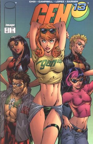 Cover for Gen¹³ #12 (1996)