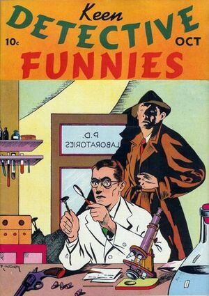Keen Detective Funnies Vol 1 3