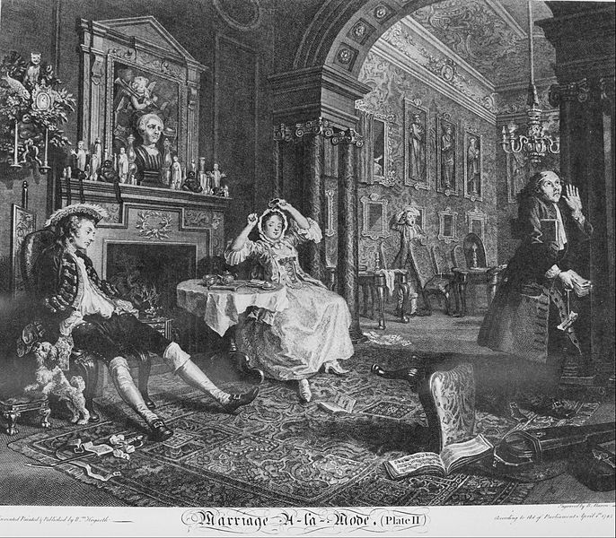 William Hogarth - Marriage à la Mode, Plate 2, (Early in the Morning) - Google Art Project.jpg
