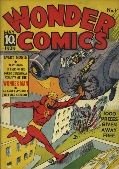 Wonder Comics (Fox) Vol 1 1