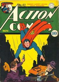 Action Comics Vol 1 42