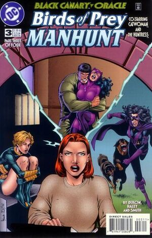 Birds of Prey Manhunt Vol 1 3