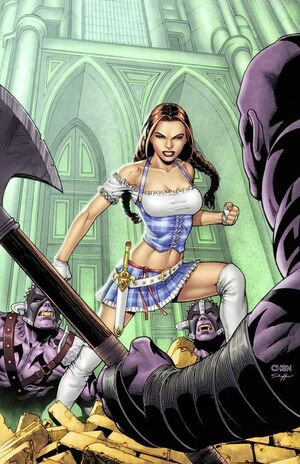 Grimm Fairy Tales Presents Warlord of Oz Vol 1 2-PA