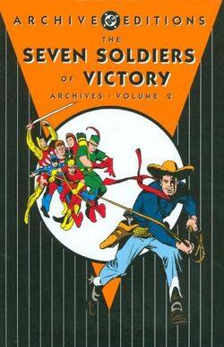 Cover for the Seven Soldiers of Victory Archives Vol 1 2 Trade Paperback
