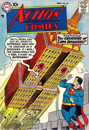 Action Comics Vol 1 234