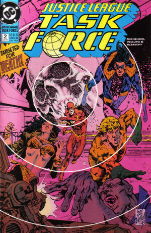 Justice League Task Force Vol 1 2