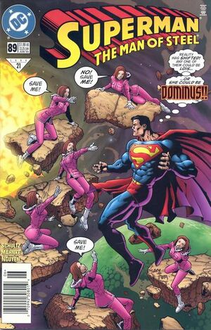 Superman Man of Steel Vol 1 89