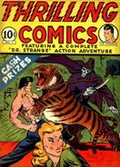 Thrilling Comics Vol 1 1