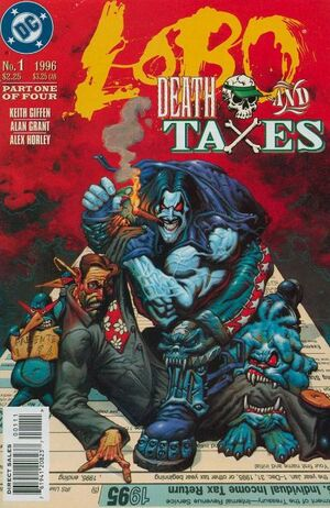 Lobo Death and Taxes Vol 1 1