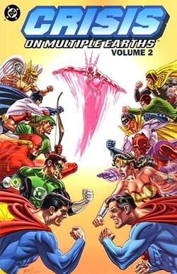 Cover for the Crisis on Multiple Earths Vol 1 2 Trade Paperback