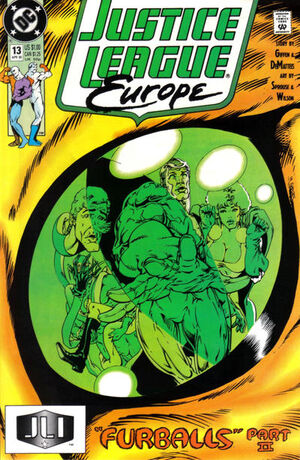 Justice League Europe Vol 1 13