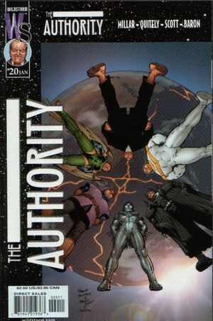 Cover for The Authority #20 (2001)