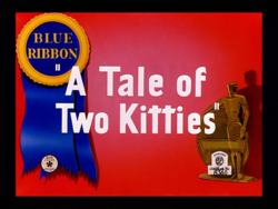 A Tale of Two Kitties title card