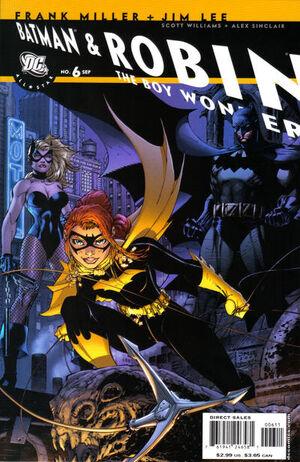 All Star Batman and Robin, the Boy Wonder Vol 1 6