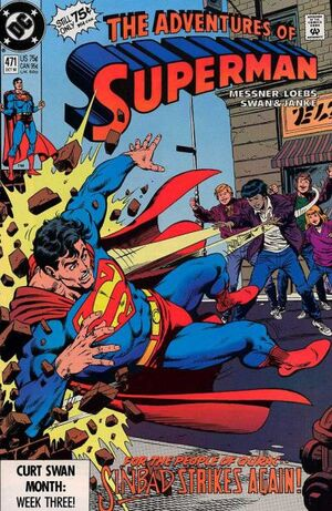 Adventures of Superman Vol 1 471