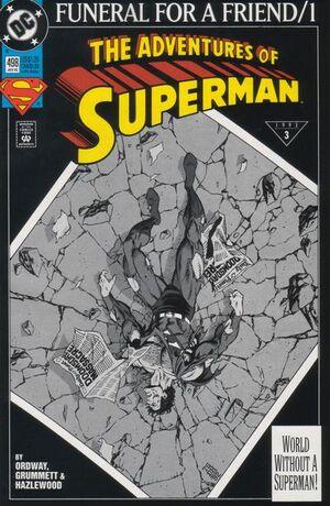 Adventures of Superman Vol 1 498