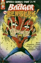 Badger Goes Berserk Vol 1 2