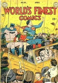 World's Finest Comics Vol 1 39