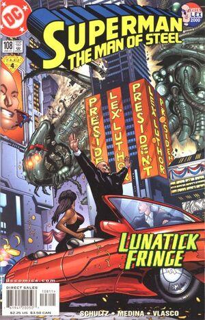 Superman Man of Steel Vol 1 108