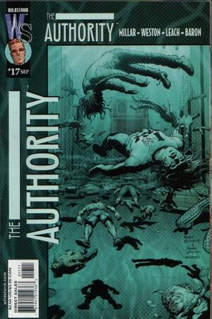 Cover for The Authority #17 (2000)