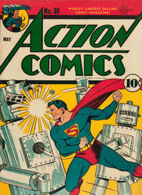 Action Comics Vol 1 36
