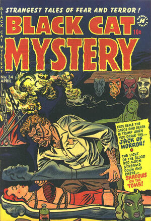 Black Cat Mystery Comics Vol 1 34